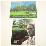 2002 Masters Journal with Bobby Jones Cover & 2002 Masters Calendar