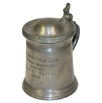 1906 Waumbek Golf Club Weekly Handicap Trophy Stein - Won By Stanley Keith - Roth Collection