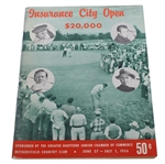 1956 Insurance City Open Program - Arnold Palmer 2nd Career Win!