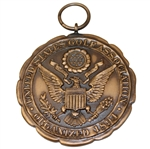 1941 Amateur Public Links Sectional Qualifying Rounds Low Scorer Medal - Kansas City - Robert Sommers Collection