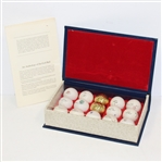 Ltd Ed. An Anthology of the Golf Ball - From Original Molds Dating 1899-1939