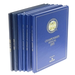 Six Championship Annuals - 4 PGA (1995-96, 1999-00) & 2 US Open (1985 & 2005)