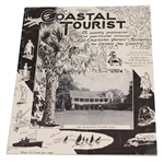 1933 The Coastal Tourist Gardens Open Tournament Program - Walter Hagen Winner
