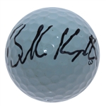Brooks Koepka Signed Nike Golf Ball with Multi-Signed 2017 US Open Ticket JSA ALOA
