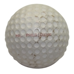 Dwight Eisenhower Personal Spalding Dot #2 MR. PRESIDENT Golf Ball (With Consistent Use)