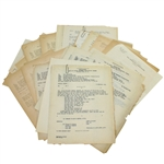 Ben Hogans Personal Assorted Official Military Documents - Unique