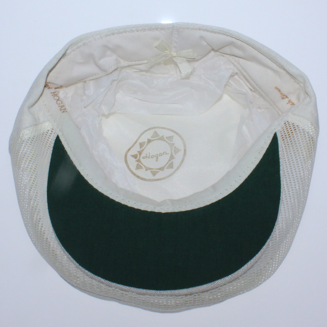 ... Ben Hogan Personal Signature White Linen Hat - Made Expressly for Ben  Hogan Tag   Original ... c2eec99a3e5