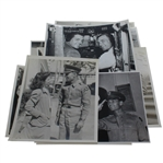 Ten Different Black and White Original Ben Hogan Personal Photos from Army Air Corps Service