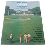 1962 US Open at Oakmont Country Club Program - Nicklaus Win