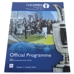 Louis Oosthuizen Signed 2010 Open Championship at St. Andrews Program JSA ALOA