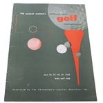1952 US Womens Open Championship Program - Louise Suggs Win
