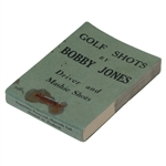 Golf Shots by Bobby Jones Flicker Book - Driver and Mashie Shots