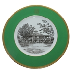 Augusta National Clubhouse Wedgwood Bone China Ltd Ed Plate #113 - Gifted to Bobby Jones Son Robert Tyre III