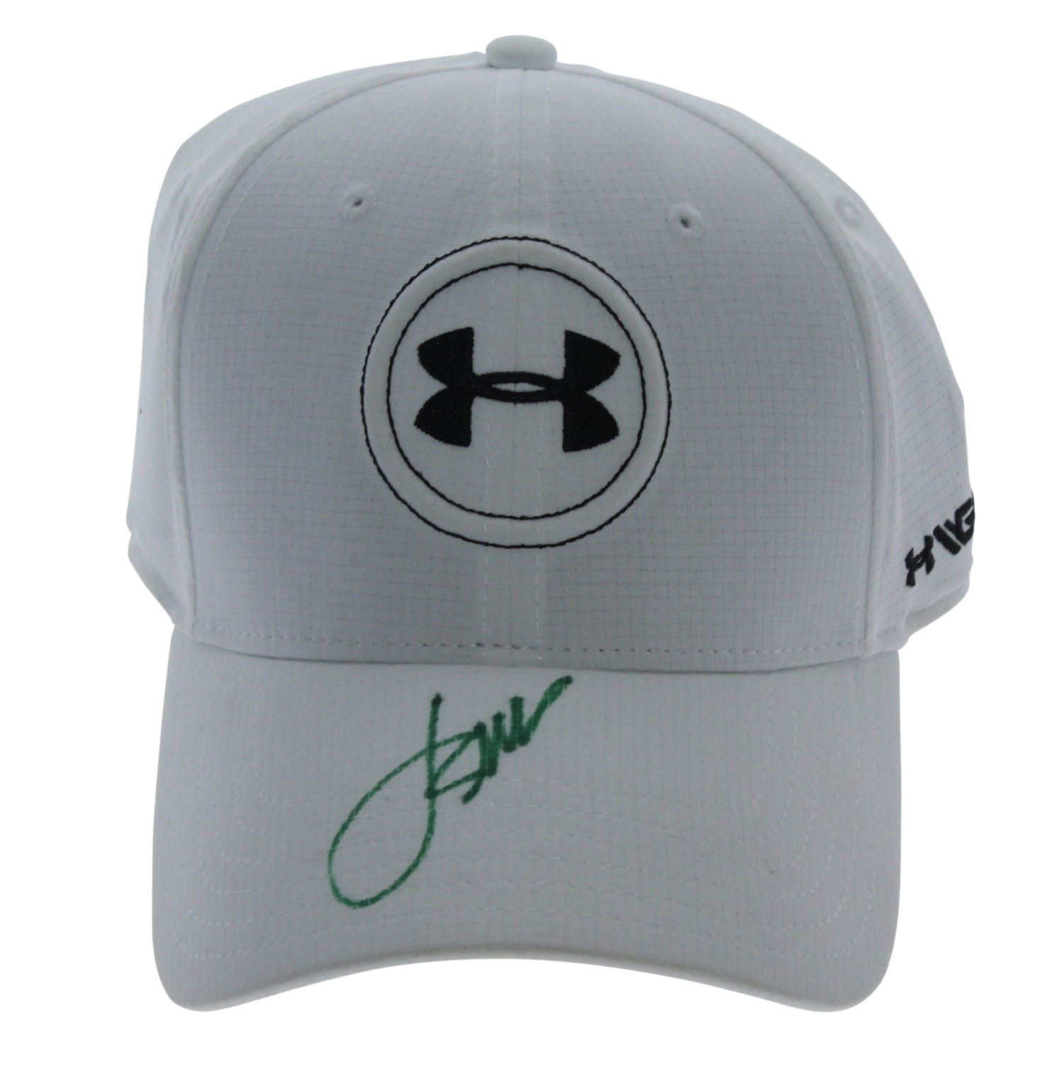 91343db31a15 Lot Detail - Jordan Spieth Signed White Under Armor Hat JSA ALOA