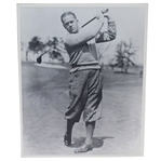 "Bobby Jones Signed 8x10 B & W Photo - ""His favorite Golfing Picture"" - JSA ALOA"