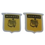 Two Augusta National Golf Club 1970s Members Pins - Seldom Seen