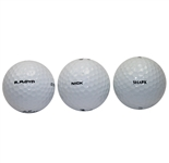 Lot of Three Personal Player Golf Balls - Nick Faldo, Greg Norman, and Ray Floyd