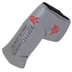 Scotty Cameron 2000 Pro Platinum Grey Red Fill Headcover