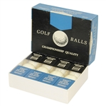 Uniroyal Championship Quality Golf Balls and Box - Roth Collection