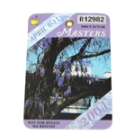 2004 Masters Tournament Badge #R12982 - Phil Mickelson Winner