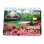 2005 Masters Tournament Badge #R13122 - Tiger Woods Winner