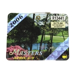 2006 Masters Tournament Badge #R13441 - Phil Mickelson Winner