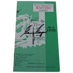 Gary Player Signed 1978 Masters Spectator Guide - Players Third Masters Title JSA ALOA