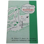 1955 Masters Spectator Guide - Cary Middlecoff Win