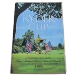 1953 Ryder Cup at Wentworh Golf Club Program - US Wins 6 1/2 - 5 1/2
