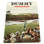 April 1954 Pre-Sports Illustrated Dummy Issue -Seldom Seen-Appears in Great Golf Collections Book