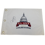 Rory McIlroy Signed 2011 US Open at Congressional Embroidered White Flag JSA ALOA