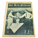 1928 Bobby Jones Walker Cup Mid Week Pictorial on Cover - Cover Only