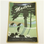 Augusta National Golf Club Masters Ceramic Candy Dish - Jones Putting Depicted