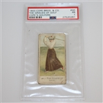 1900 The Graces of Golf Cope Bros. & Co. Cigarette Golf Card #40 - PSA#27520261