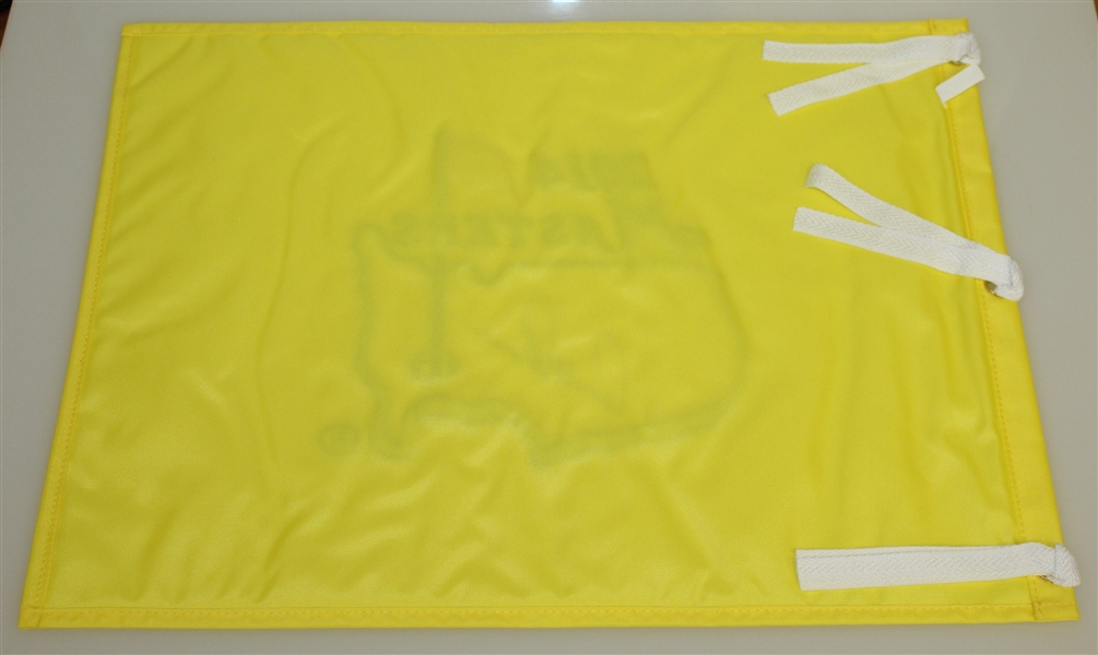 Arnold Palmer Signed 2014 Masters Tournament Embroidered Flag JSA ALOA