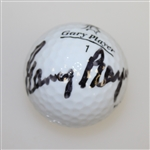 Gary Player Signed Personal Black Knight Logo Golf Ball - Came Out of His Bag JSA ALOA