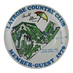 Arnold Palmer Latrobe Country Club 1979 Member/Guest Plate