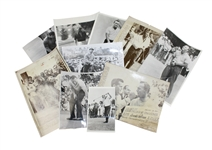 Ten Arnold Palmer Vintage Wire Photos - Many from Majors