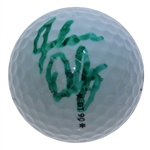 John Daly Signed 1991 PGA Championship at Crooked Stick Logo Golf Ball JSA ALOA