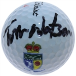 Tom Watson Signed Royal Birkdale Logo Golf Ball JSA ALOA