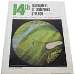1966 Tournament of Champions Program - Arnold Palmer Win