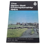 1964 Open Championship at St. Andrews Program - Tony Lema Winner