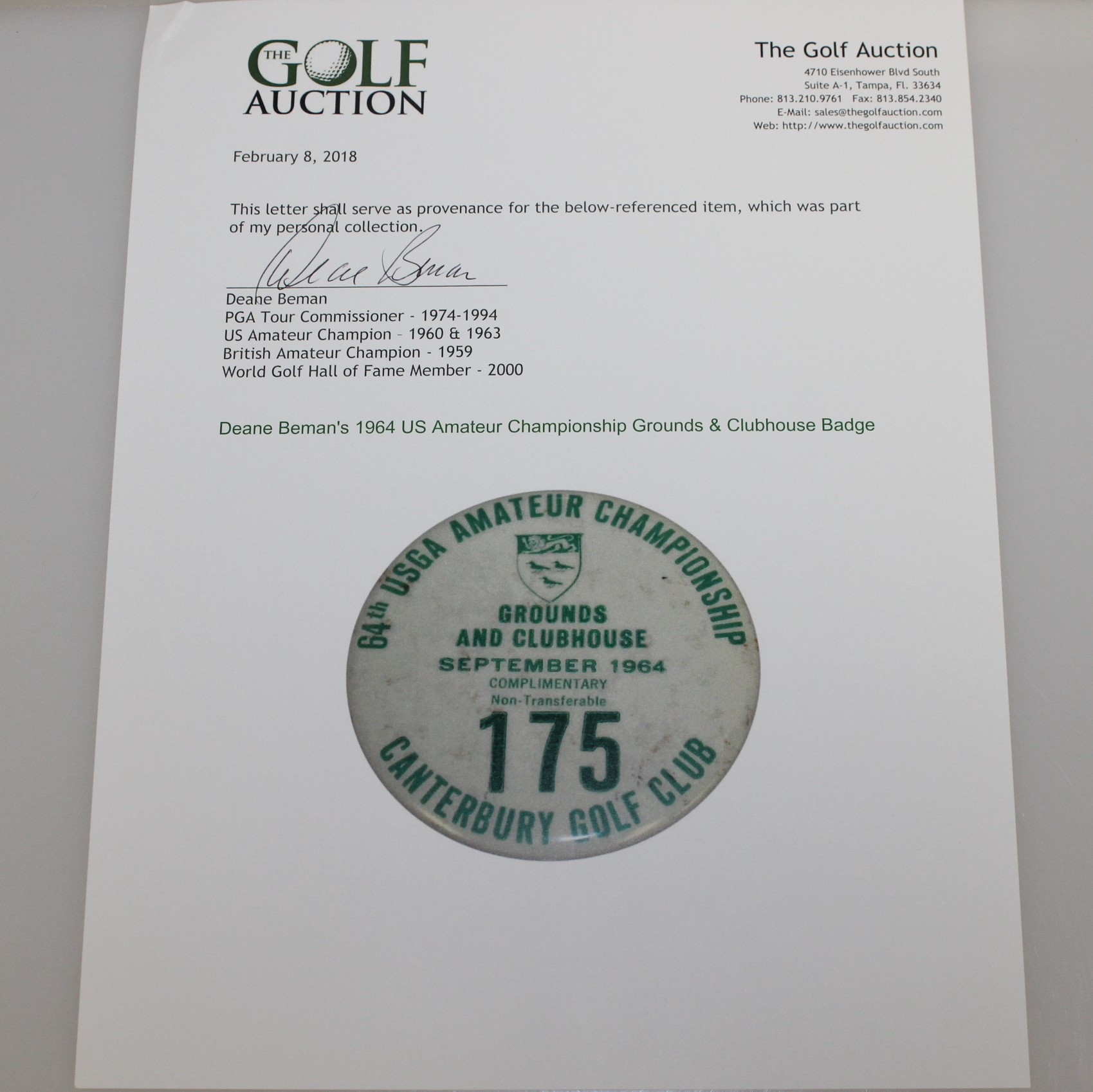 Us amateur golf hall of