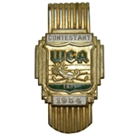 Deane Bemans 1954 WGA Junior Amateur Contestant Badge Money Clip
