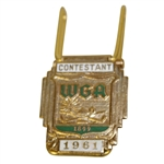 Deane Bemans 1961 WGA Contestant Badge Money Clip