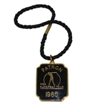 1985 PGA European Tour Patron Badge - Deane Beman Collection