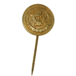 Deane Bemans Undated USGA Gold Pin