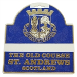 The Old Course St. Andrews Scotland Bag Tag - Deane Beman Collection