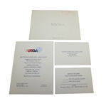 Arnold Palmer Room Opening at USGA Museum Invitation and RSVP Card