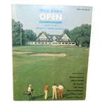 1962 US Open at Oakmont Country Club Program - Jack Nicklaus Win